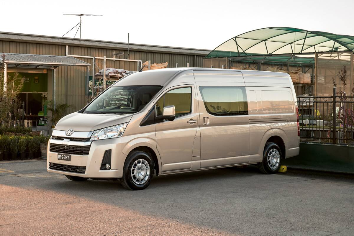 Toyota HiAce won't be offered with all-wheel drive