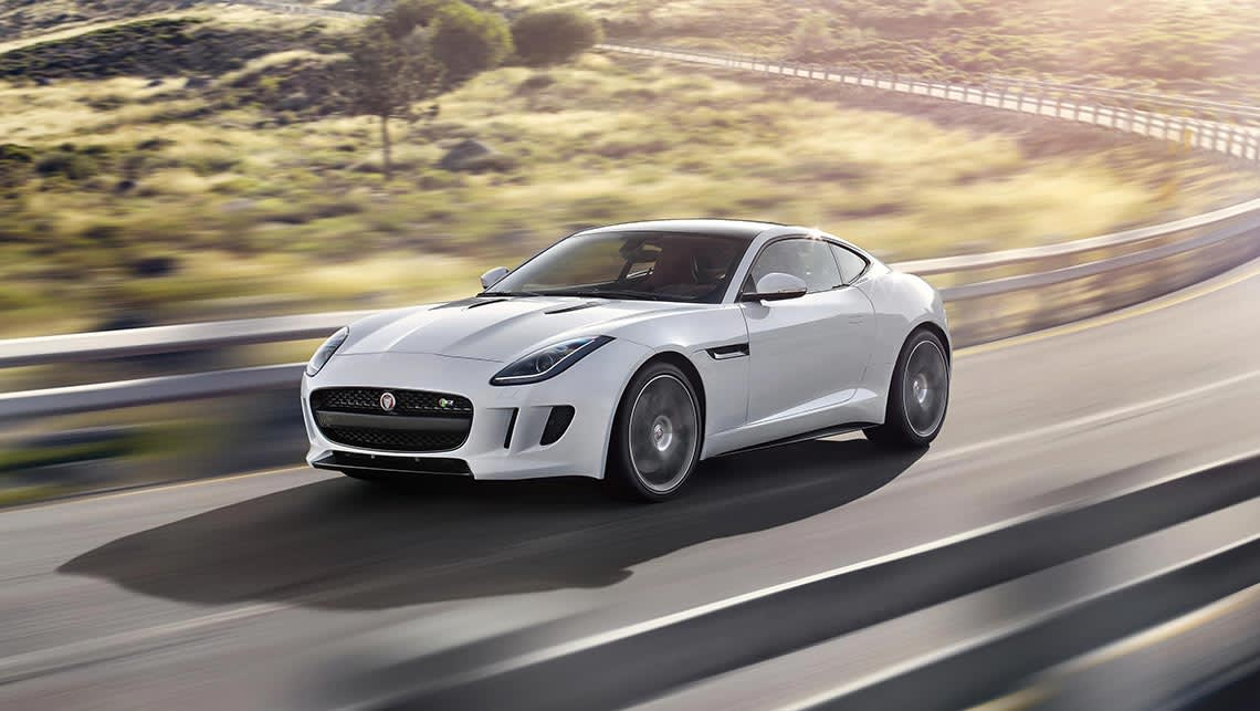 Jaguar F Type Coupe >> Jaguar F Type 2014 Review Carsguide