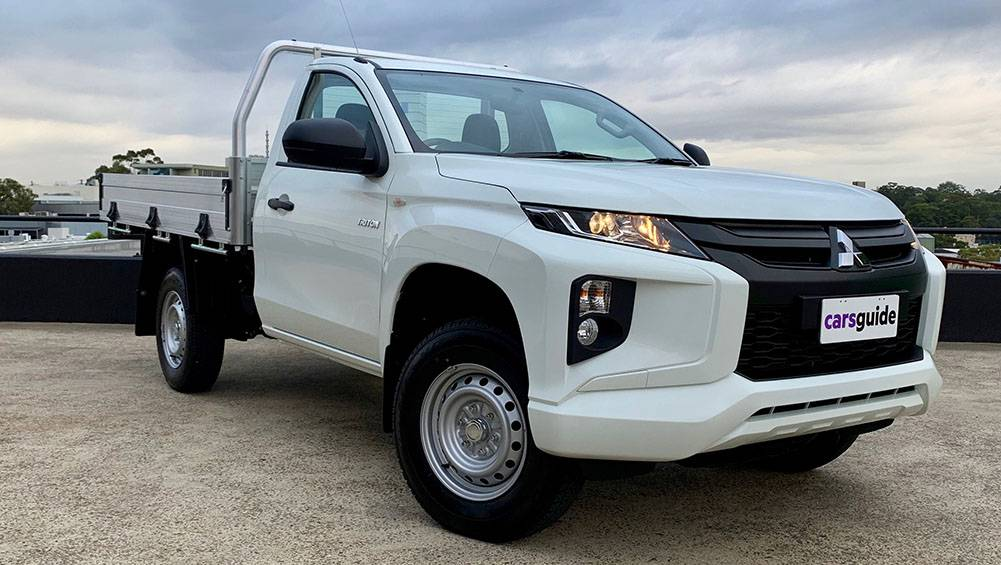 Mitsubishi Triton single cab petrol 2019 review