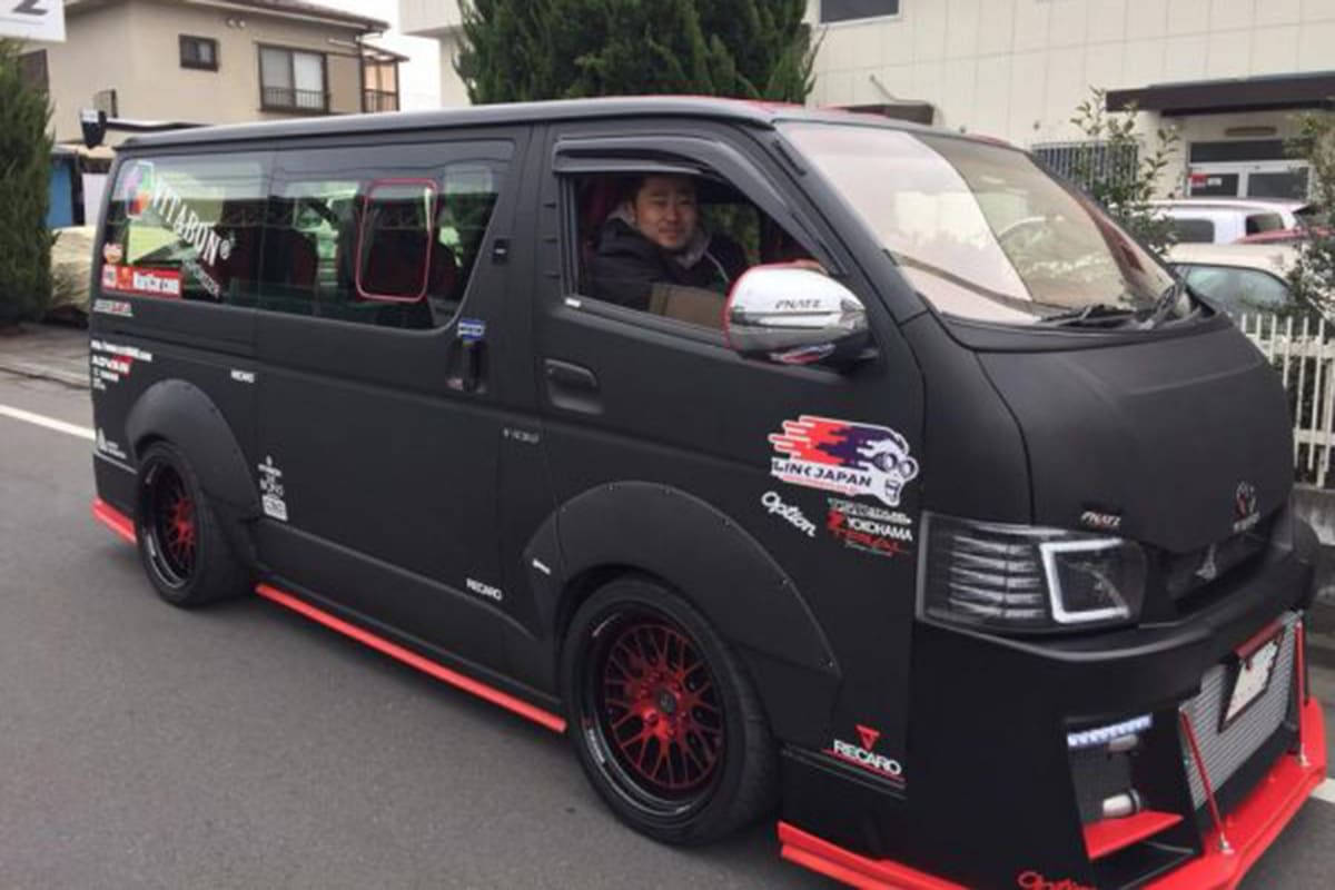 This Gt R Powered Hiace Will Unclog Your Pipes Carsguide