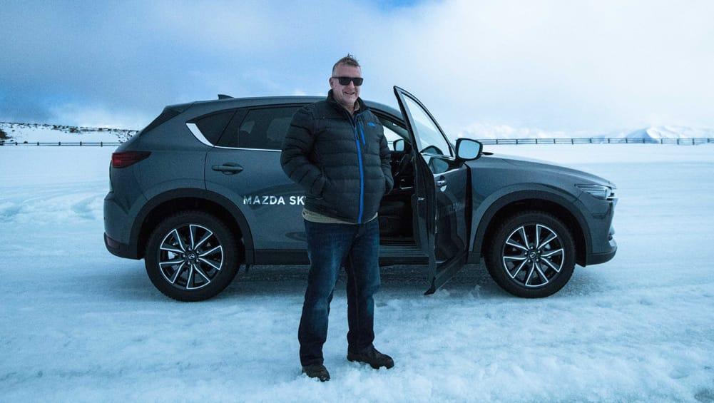 2017 mazda cx 5 awd in snow