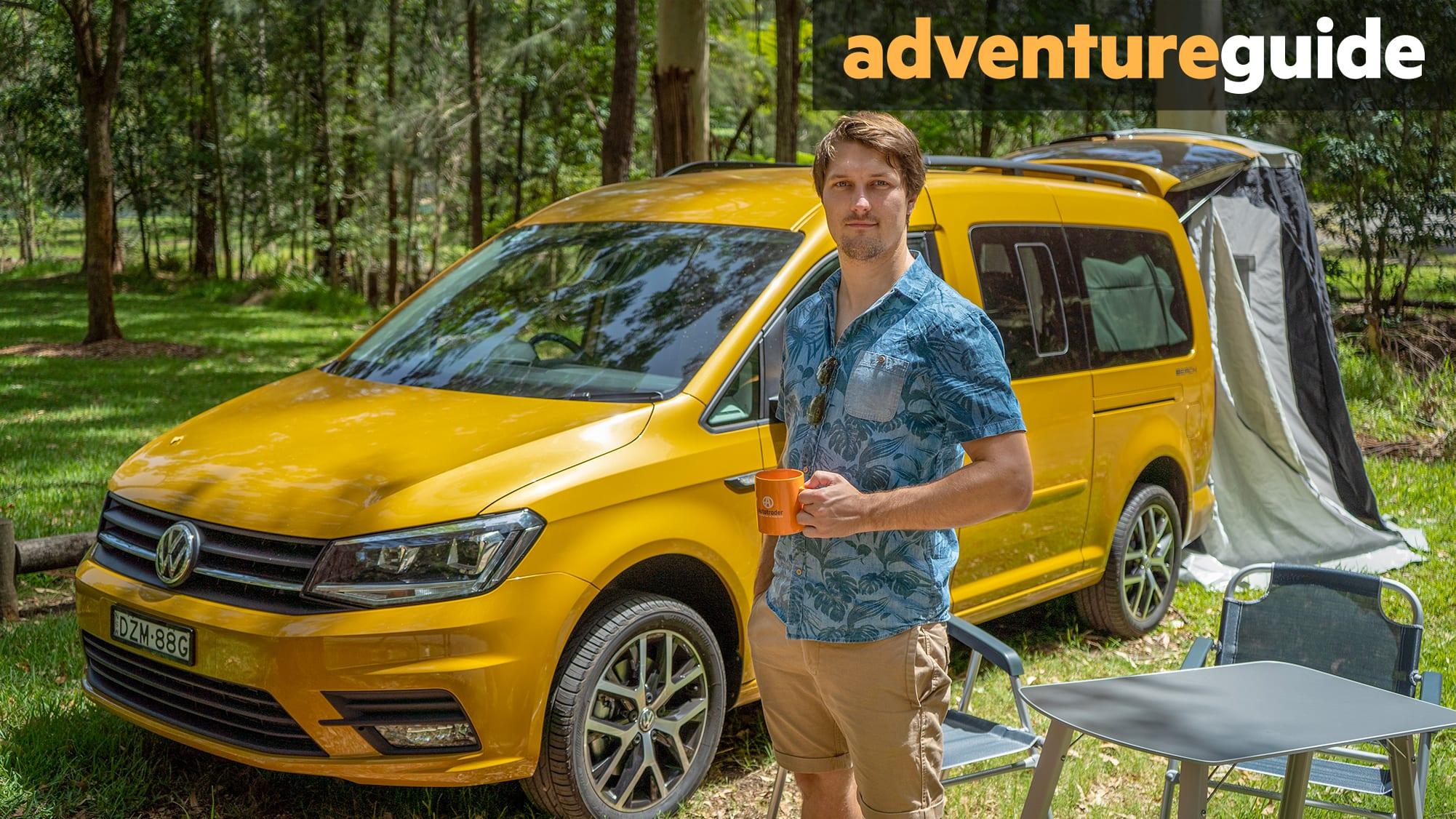 948ed5d084 Volkswagen Caddy Beach 2019 review