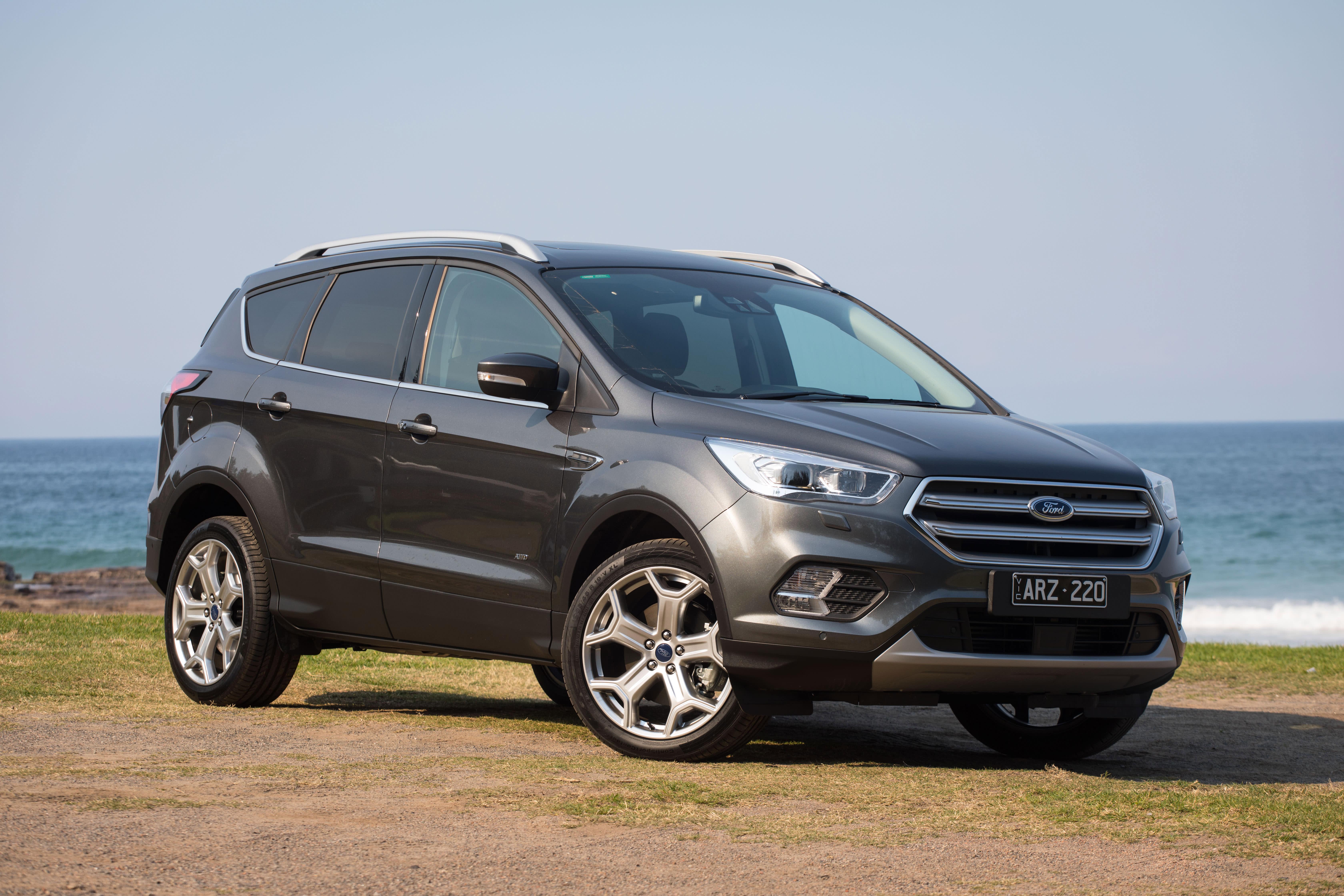 Ford escape titanium petrol awd 2018 review carsguide