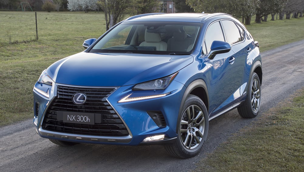 Lexus NX 2019 pricing and specs confirmed