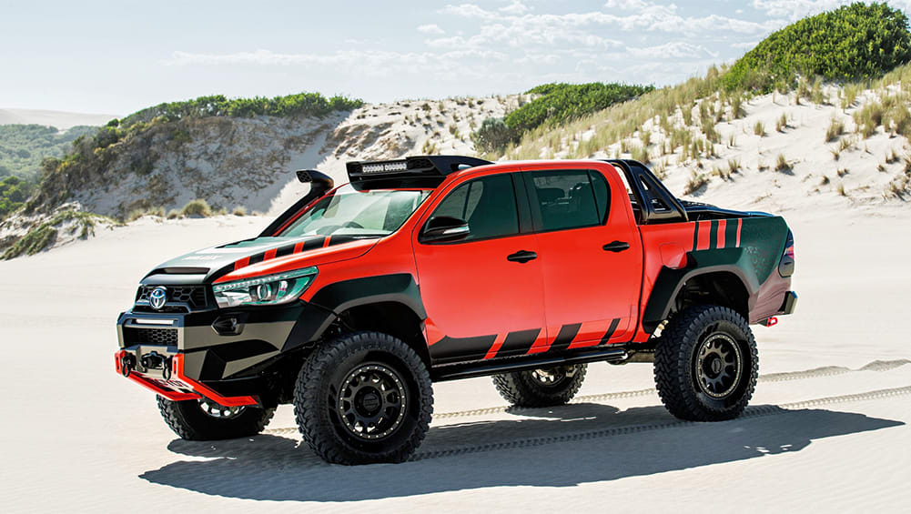 Toyota HiLux hero to rival Ford Ranger Raptor