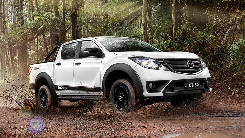mazda bt-50 boss  new top-spec dual cab is here to battle the ford ranger wildtrak