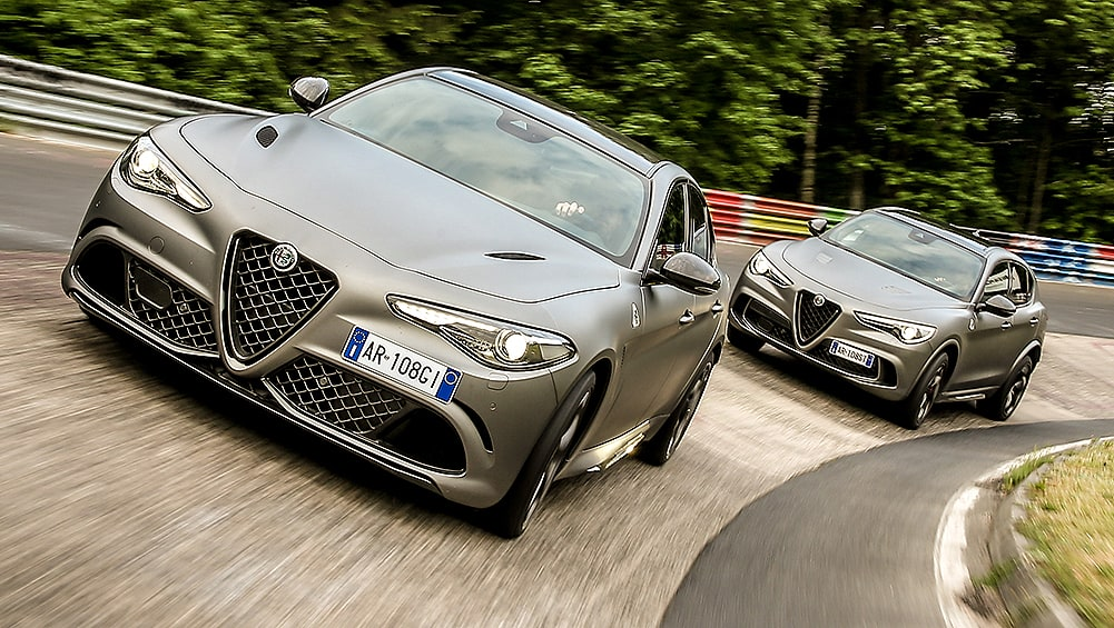 Alfa Romeo Giulia, Stelvio Quadrifoglio NRING editions pricing and spe