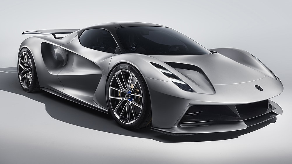 Lotus Evija 2020 revealed