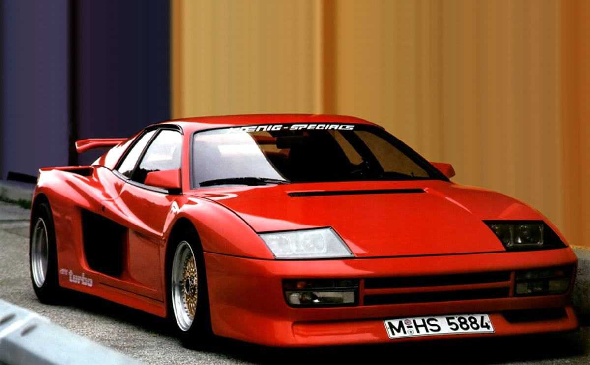 Thought the F40 was the wildest Ferrari? Think again | CarsGuide - OverSteer