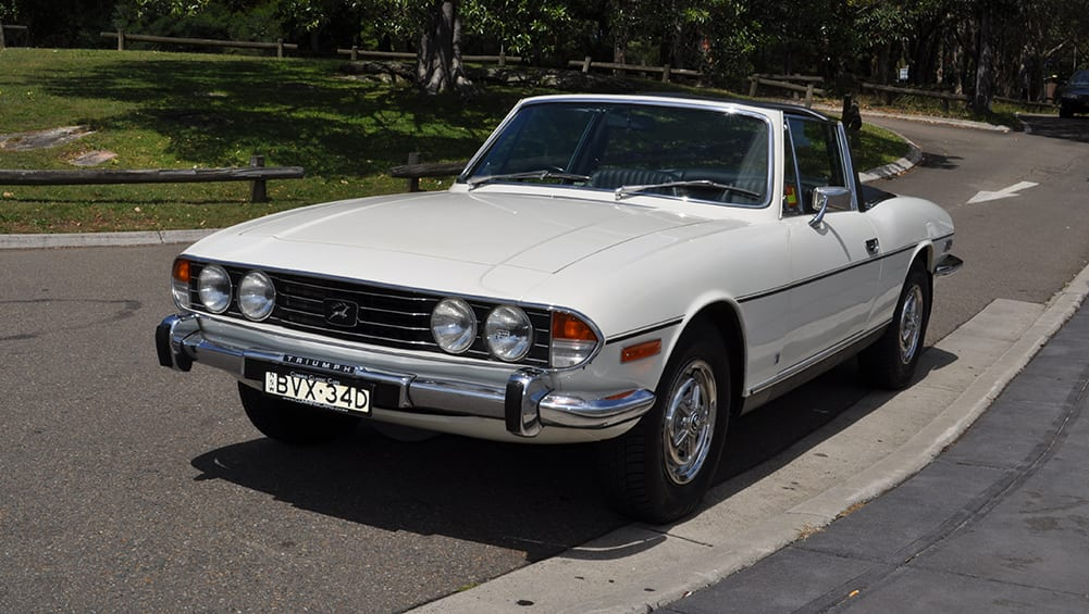 After 42 years, this Triumph Stag is still factory fresh   CarsGuide ...