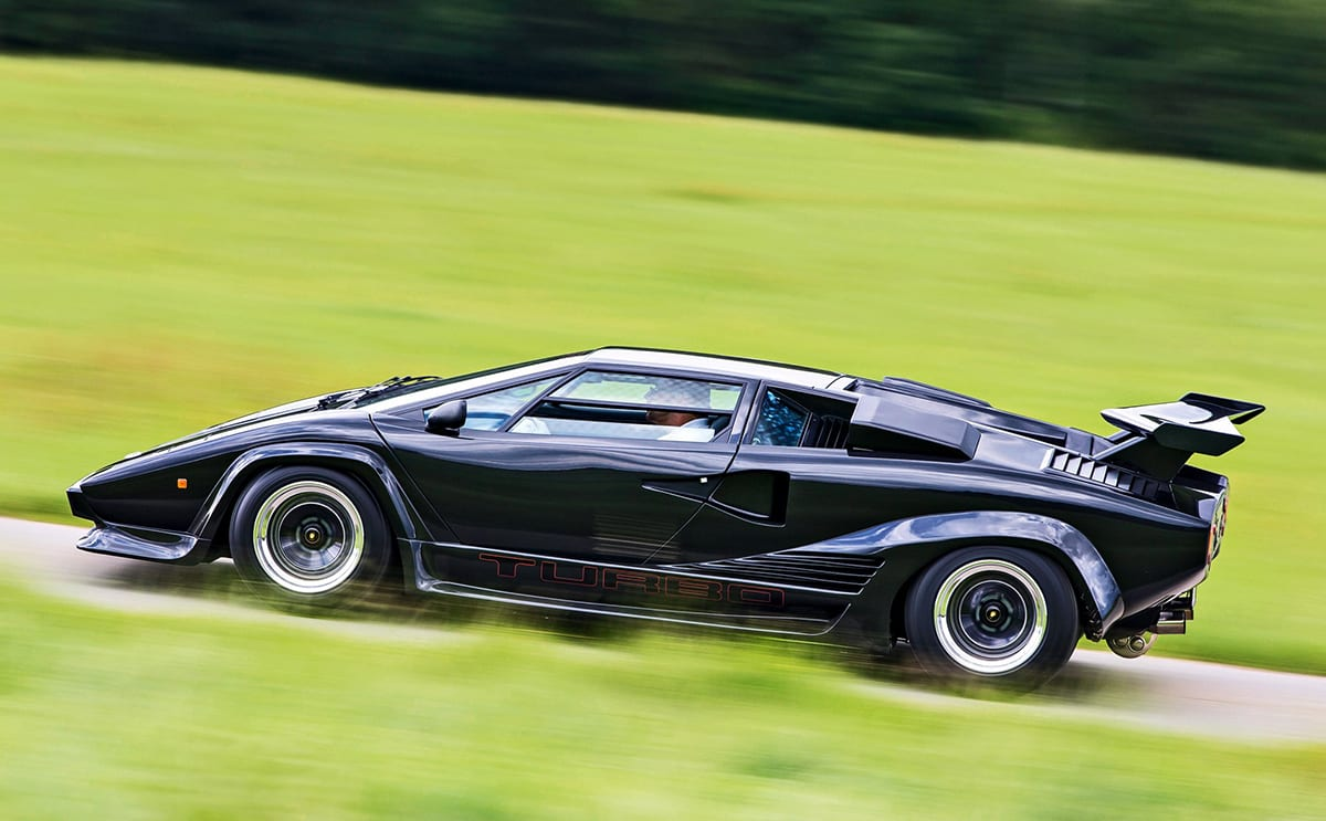 lamborghini once bolted two turbos to the countach carsguide oversteer. Black Bedroom Furniture Sets. Home Design Ideas