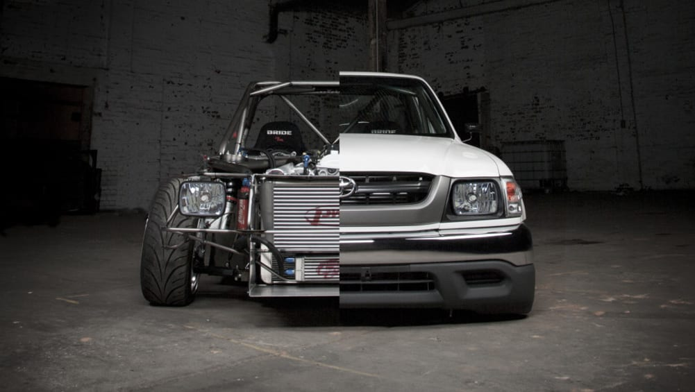 Volvo Of Lisle >> This tube-framed drift HiLux is batshit crazy - and we ...