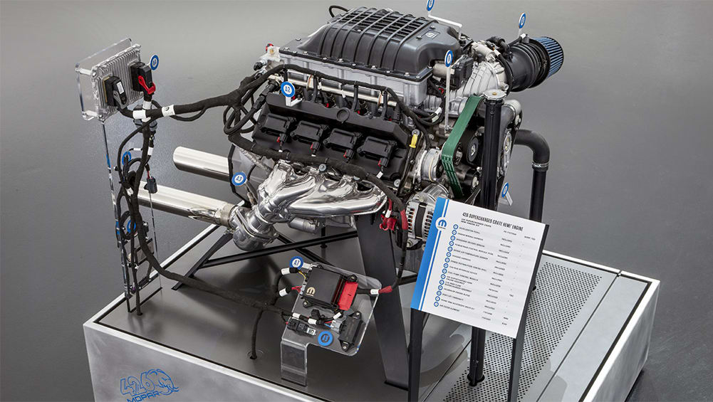 Chrysler to sell a brand new 1000hp crate engine ...