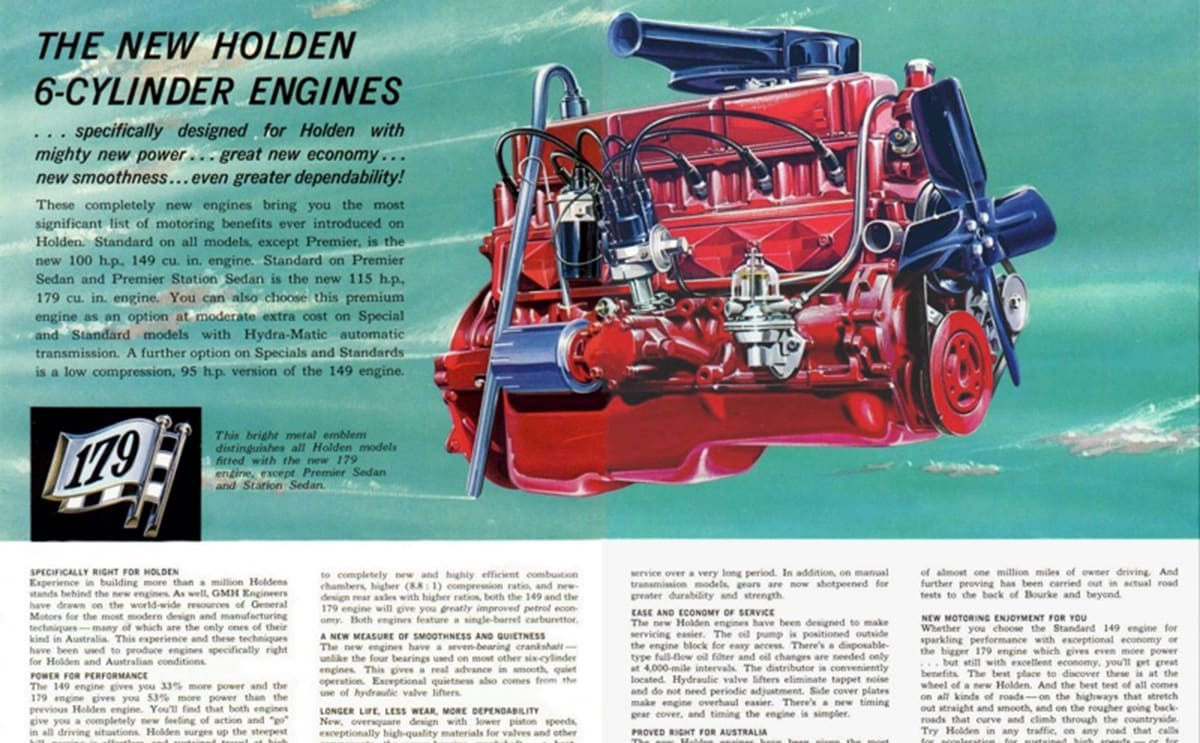 The Red Motor Was One Of Holdens Best Six Cylinder Engines And 1986 Porsche Flat 6 Engine Diagram That Would Power Majority Through 60s 70s Early 80s Image Credit Survivor Car Australia