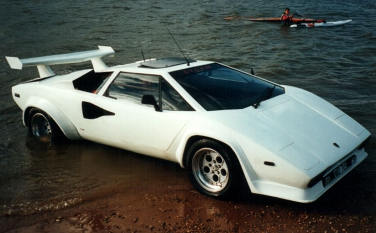 Exceptional  Nuoto Is Italian For Swimming, And It Wonu0027t Take Long To Grasp The Very  Unusual Aspects Of This Lamborghini Countach. (image: Surivvor Car  Australia ...