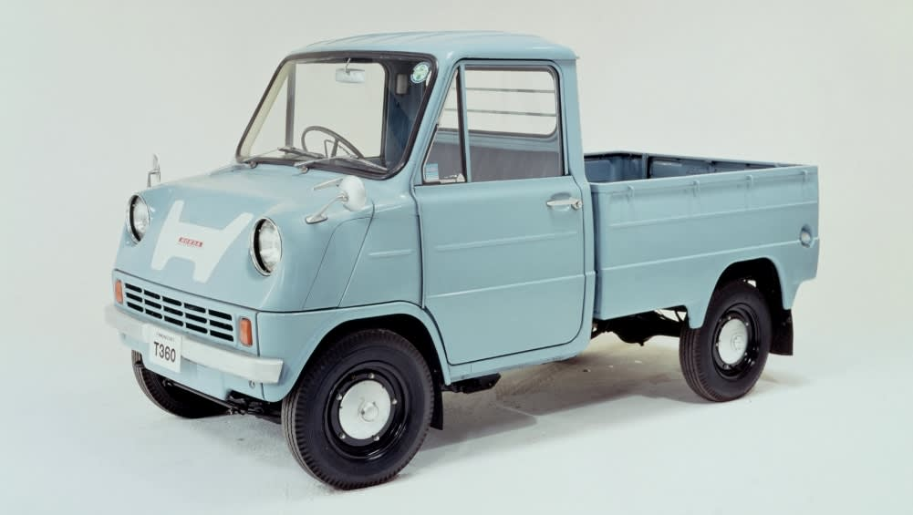 Hondas First Production Car Was A Mid Engined Ute
