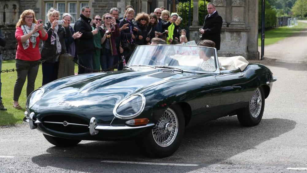 So, it turns out the Pippa Middleton E-Type is the oldest in ...