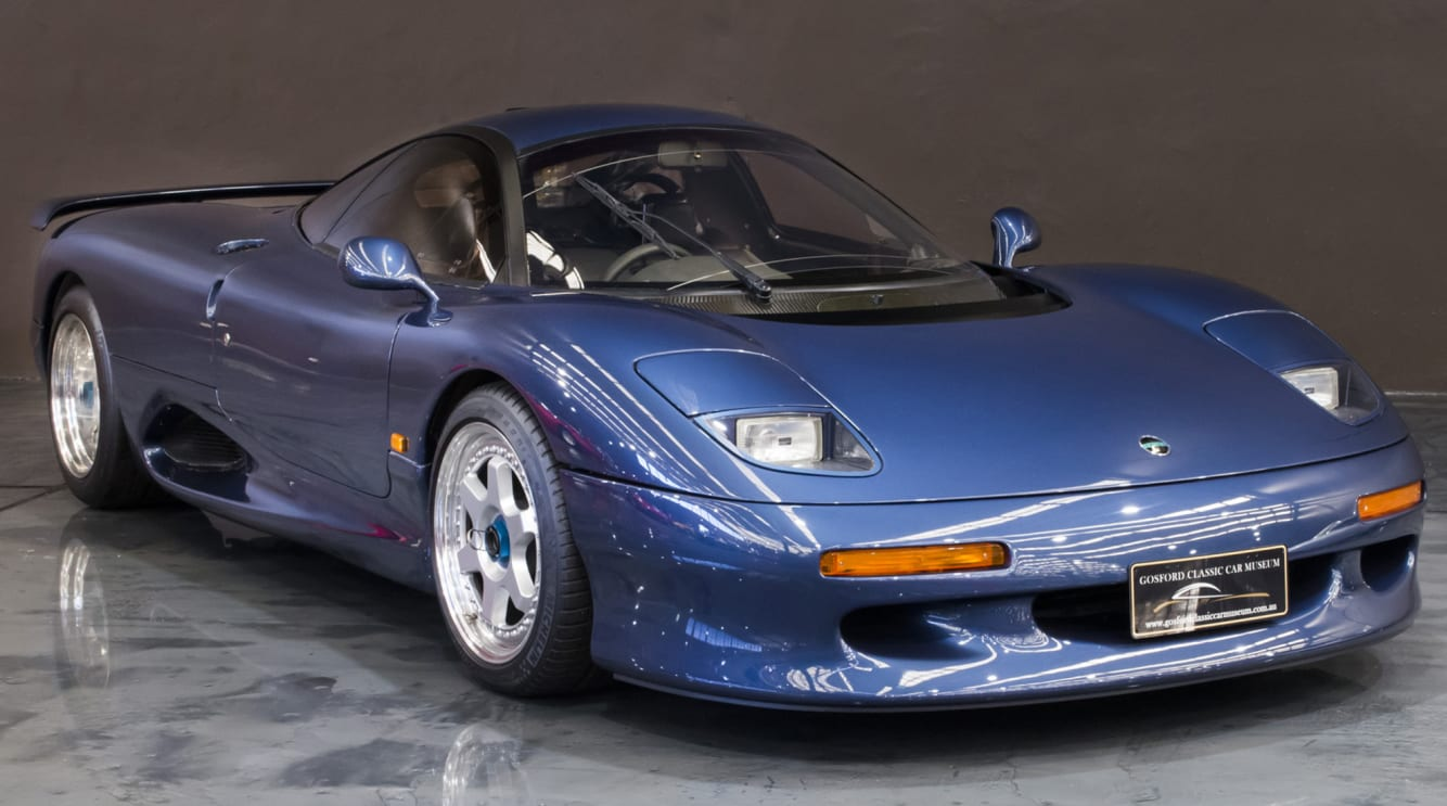 Jaguar Xj220 For Sale >> Here's your one (and possibly only) chance to buy a Jaguar XJR-15 in Australia | CarsGuide ...
