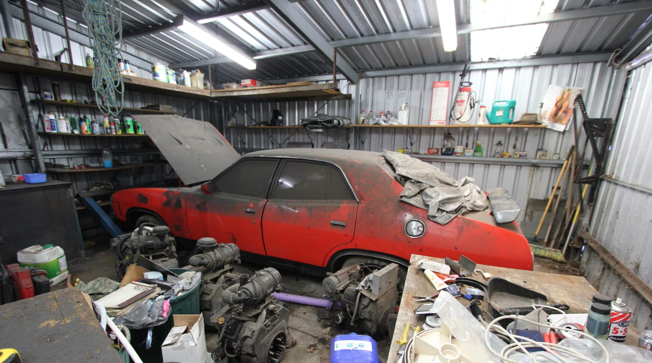 Holy Mothballs The Story Of A Perfect Falcon Barn Find