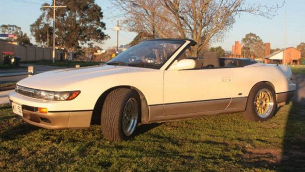 Feel Claustrophobic Drifting With A Roof This Convertible