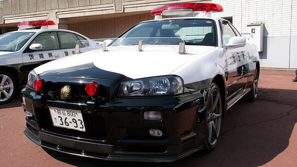 Japanese Police Car Skyline Www Pixshark Com Images