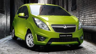 Holden Barina Spark Electric Review First Drive Carsguide