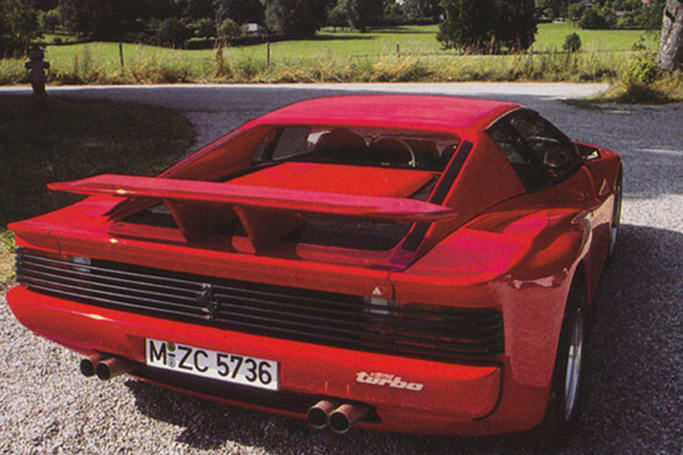 thought the f40 was the wildest ferrari think again carsguide oversteer. Black Bedroom Furniture Sets. Home Design Ideas