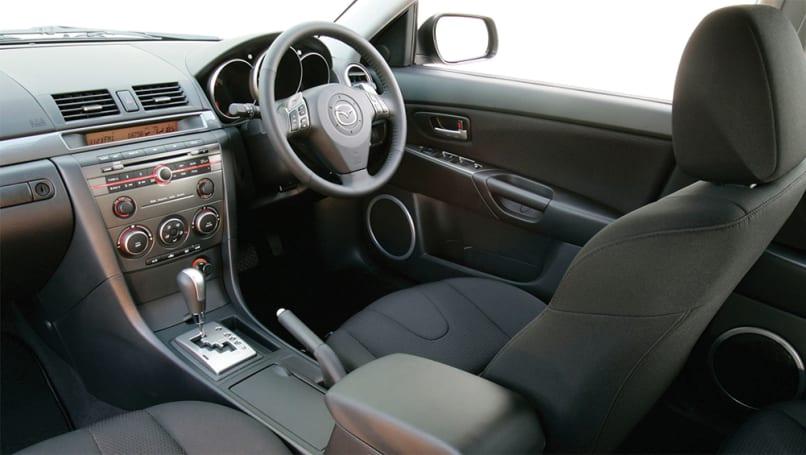2006 Mazda 3 SP23 Interior.