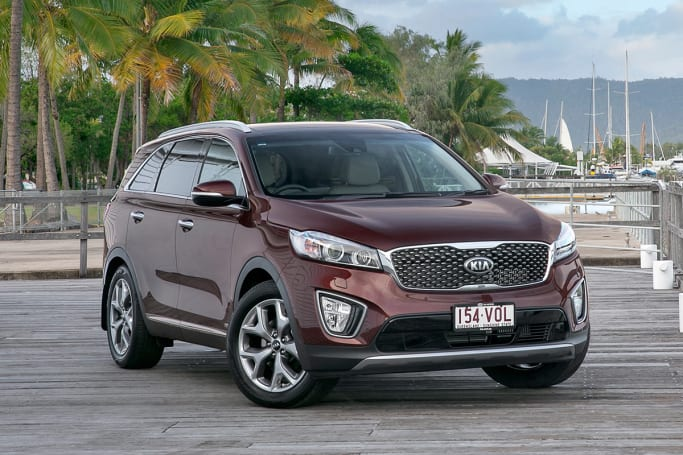 Kia Sorento Platinum. The Platinum Has A GVM Of 2660kg, Towing Capacity Of  2000kg (braked),