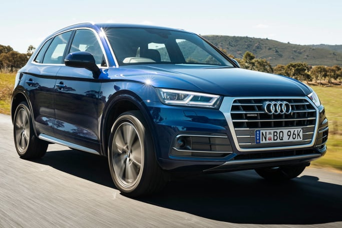 Should you tackle a twisting road, the new Q5 stays reassuringly flat through direction changes.