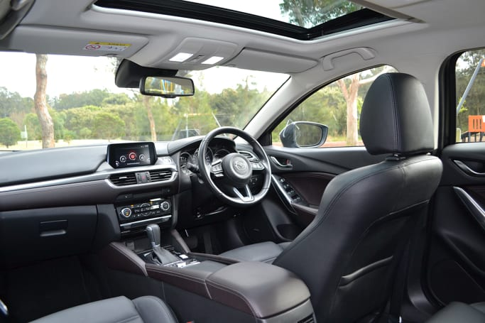 The Mazda6 Gt Wagon S Cabin Has A Premium Feel With Leather Seats And An Excellent Fit