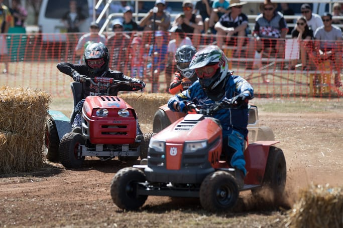 Forget Supercars Lawn Mower Racing Is Australia S Best