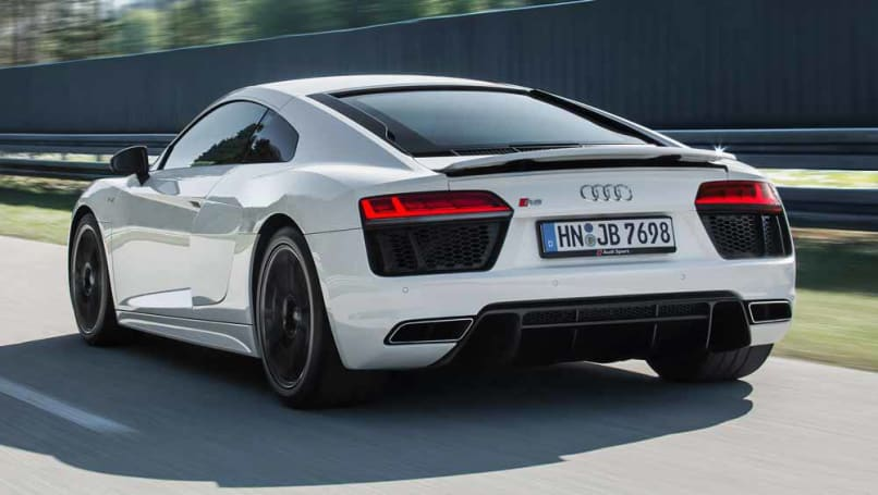 Audi R8 Rws 2018 Pricing And Spec Confirmed Car News Carsguide