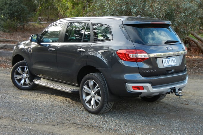 Ford Everest 2018 Review Carsguide