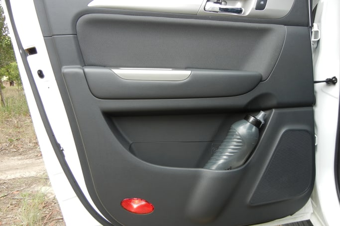 Rear doors also have bottle holders and storage pockets, plus there are flexible storage pockets on the rear of each front seat. (image credit: Mark Oastler)