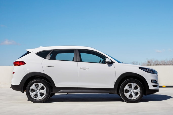 The exterior design of the updated Tucson is largely unchanged.