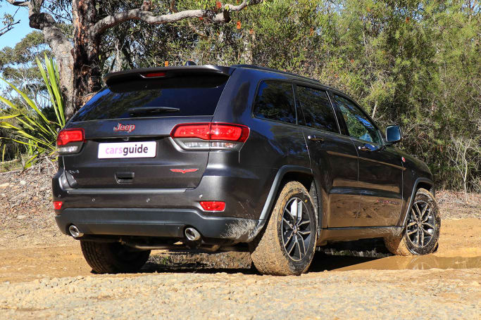 49bb48a53131 The new Trackhawk brings with it some additions that point to its off-road  intentions