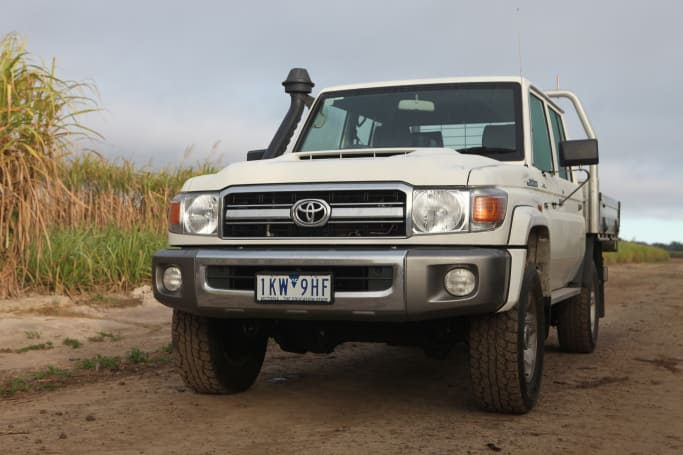 Land Cruiser 79 Series GXL dual-cab 4WD 2018 off-road review