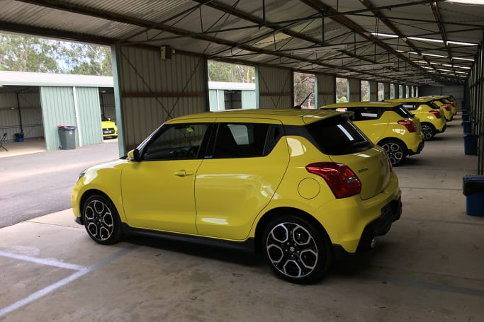 suzuki swift sport 2018 review carsguide. Black Bedroom Furniture Sets. Home Design Ideas