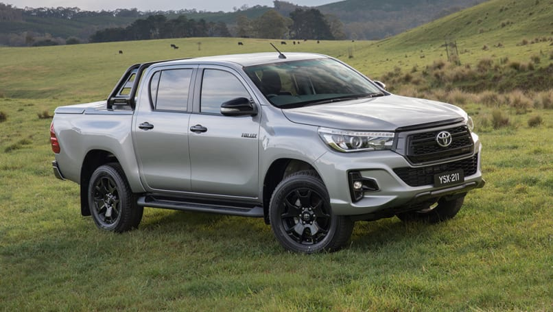toyota hilux 2018 range to expand with rogue rugged and rugged x models car news carsguide