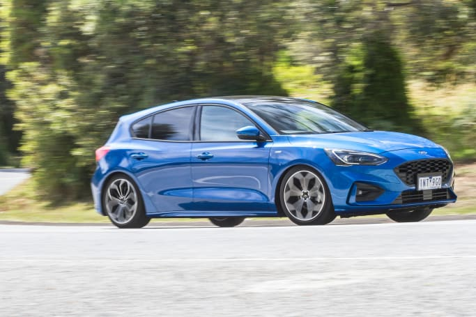 While the ST-Line does have a dual exhaust, the engine output is the same as any other Focus. (ST-Line pictured)