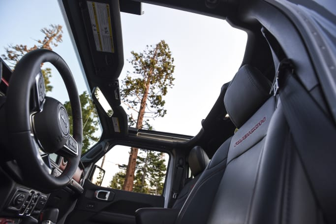 No matter the roof configuration, there's acres of headroom across the range.