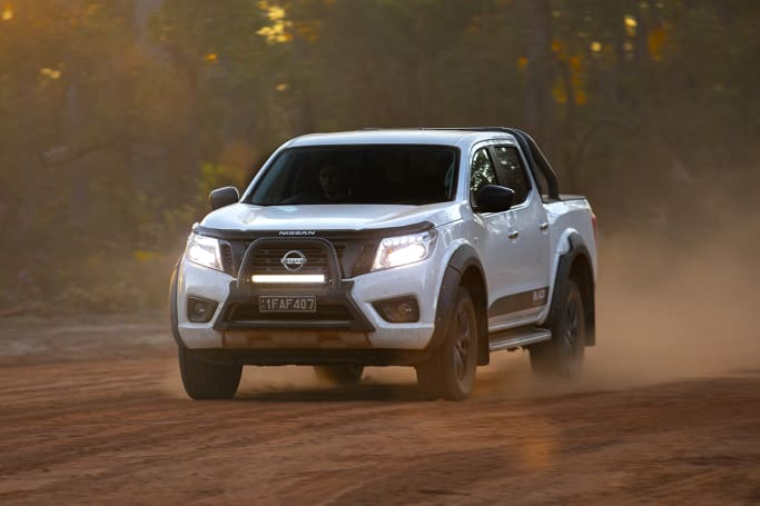 Nissan Navara St Black Edition 2019 Off Road Review Carsguide