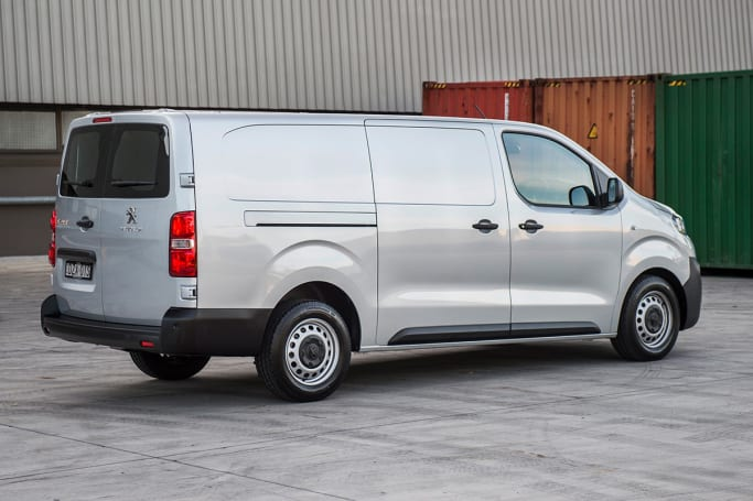 The Expert is a chic looking van that hides its overall size quite well.