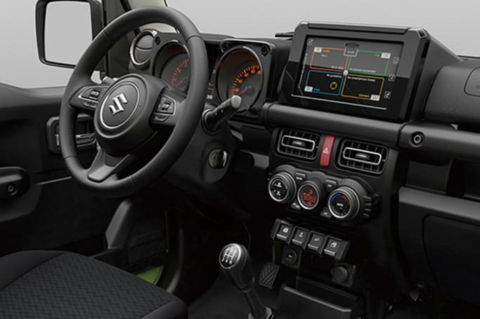 suzuki jimny 2019 revealed car news carsguide. Black Bedroom Furniture Sets. Home Design Ideas