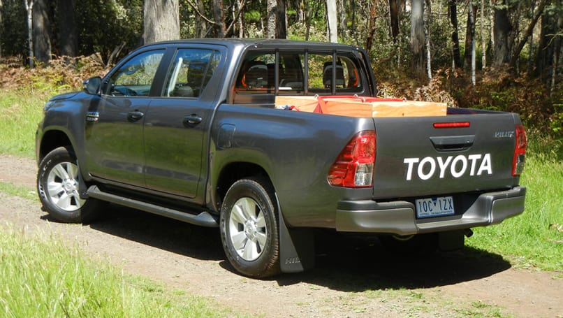 Toyota HiLux 2019 review: SR auto   CarsGuide