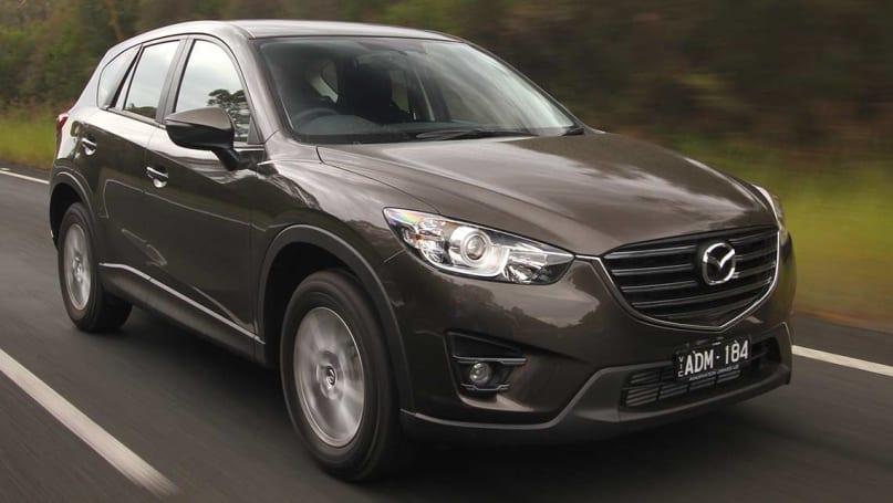 Subaru Forester Towing >> Mazda CX-5, Toyota RAV4 and Subaru Forester diesel 2015 Review   midsize SUV comparison   CarsGuide