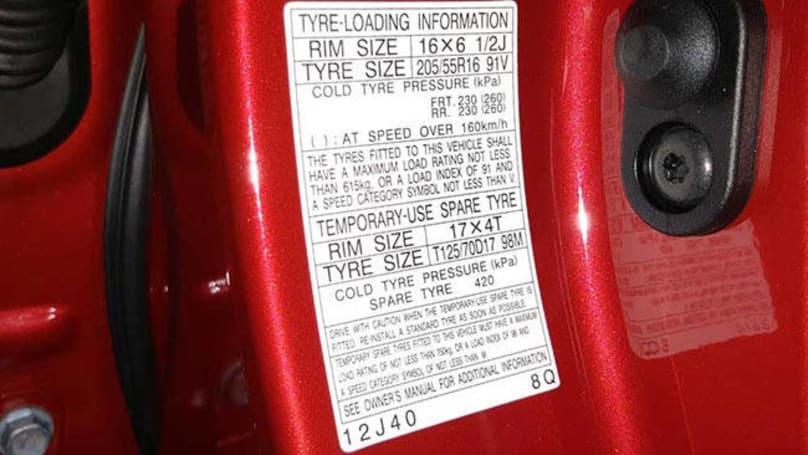 Toyota Corolla Tyre Pressure Carsguide