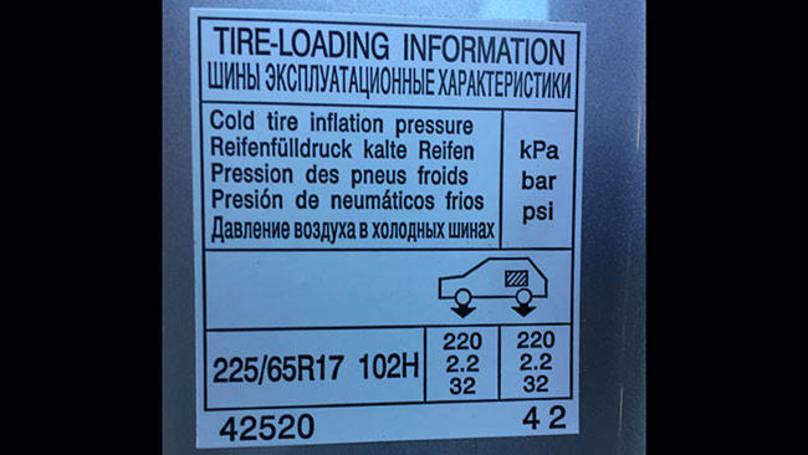 Toyota Rav4 Tyre Pressure Carsguide