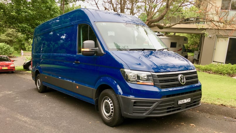 Volkswagen Crafter 2019 Review Tdi410 Lwb High Roof Carsguide